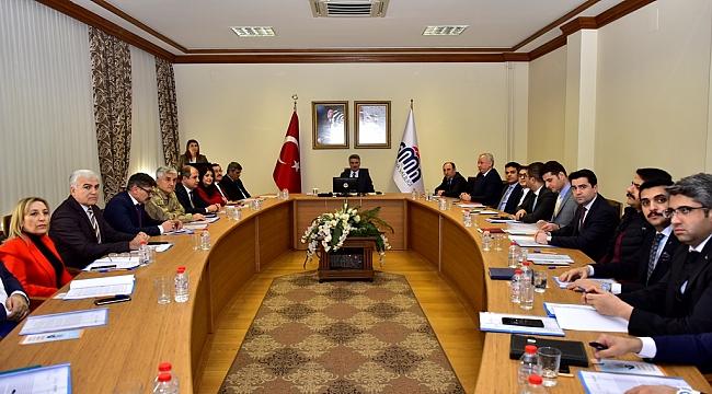 Kadına Yönelik Şiddetle Mücadele İl Koordinasyon İzleme ve Değerlendirme Komisyonu 1. Dönem Toplantısı Düzenlendi