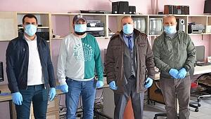 ASYMD'den gazetecilere eldiven ve maske