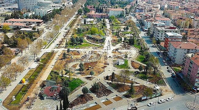 Büyükşehir,Sümer Parkı Yeniliyor.