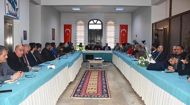 """""""ENGELSİZ MALATYA'YA DOĞRU""""TOPLANTILARININ İLKİ GERÇEKLEŞTİRİLDİ"""