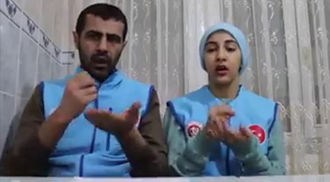 İmamdan işitme engellilere işaret diliyle