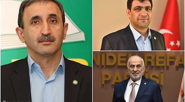 Diyanet İşleri Başkanı Erbaş'a, siyasi partilerden destek