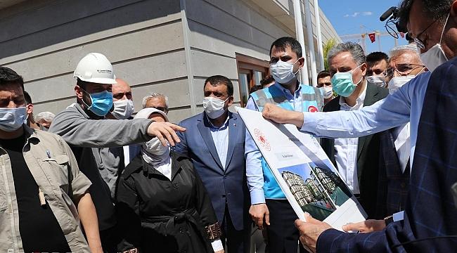 """Çevre ve Şehircilik Bakanı Kurum: """"Her yıl 300 bin konutun dönüşümünü hedefliyoruz"""""""