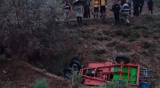 Malatya'da çapa motoru kaza yaptı: Bir ölü bir yaralı