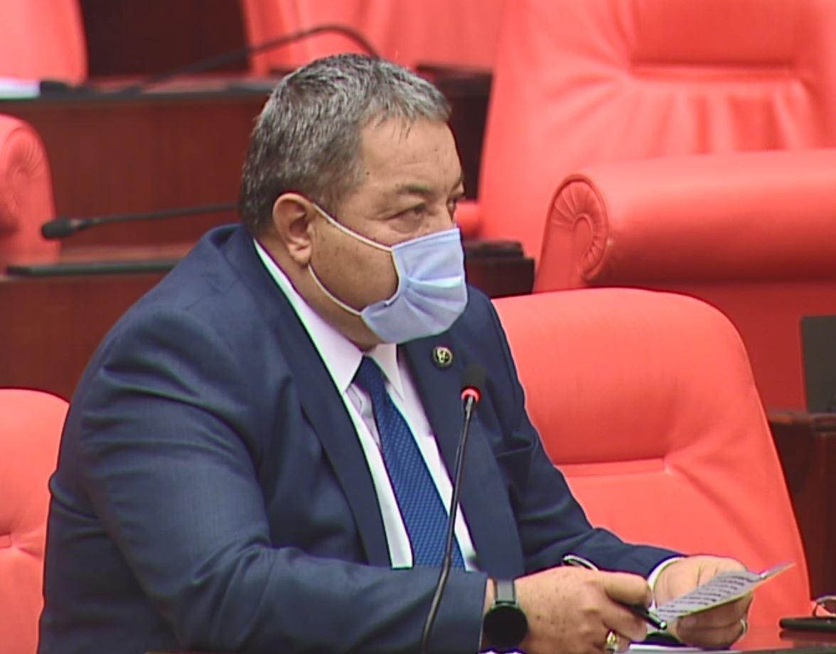 MHP Malatya Milletvekili Mehmet Fendoğlu TBMM Genel Kurulunda söz alarak
