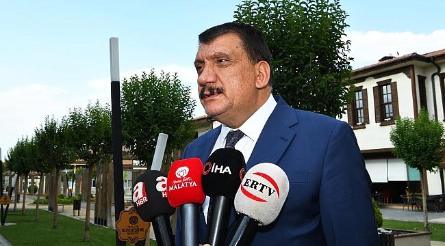 Başkan Gürkan, Ankara temasları hakkında bilgiler verdi