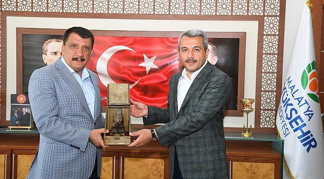 Gençlik ve Spor Bakan Yardımcısı Baydaş'tan Başkan Gürkan'a ziyaret