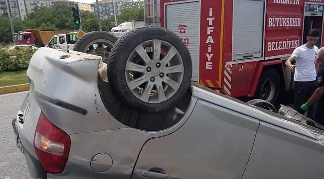 Malatya'da trafik kazasında 4 kişi yaralandı