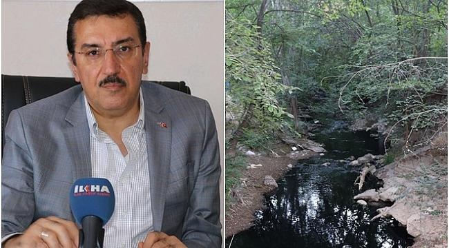 Malatya Milletvekili Tüfenkçi'den Şahnahan deresi açıklaması