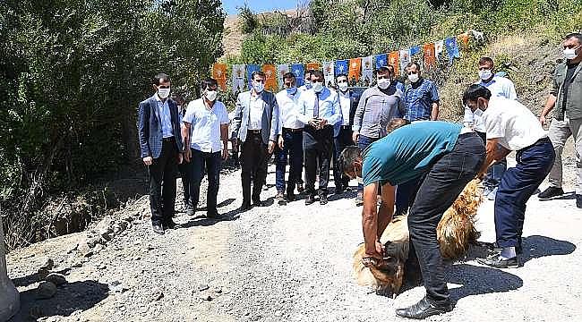 Gürkan'a Pütürge'de Yoğun İlgi