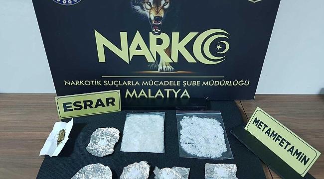 Malatya'da uyuşturucu ticaretinden bir kişi tutuklandı