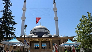 Malatya'nın en büyük camii dualarla ibadete açıldı