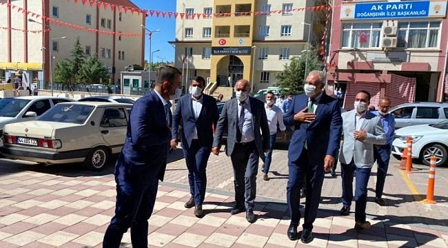 Akparti Milletvekili Kahtalı Doğanşehir'de