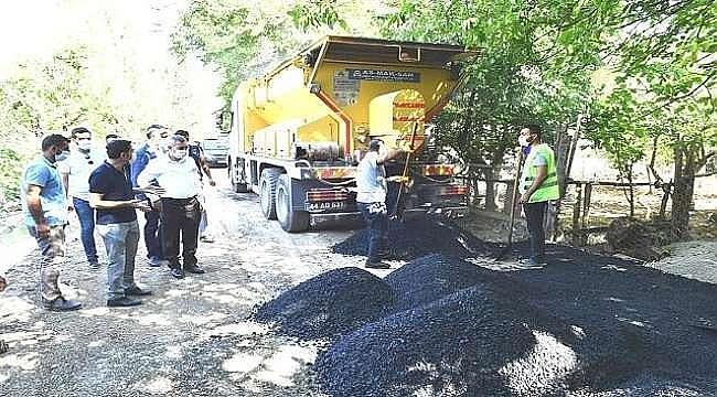 Yeşilyurt Belediyesinde Hizmet Çalışmaları Sürüyor