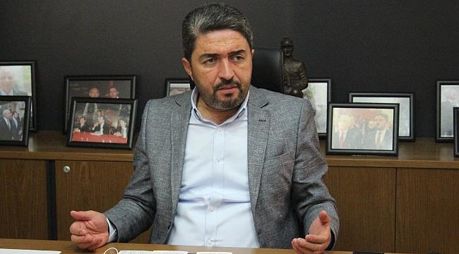 CHP İl Başkanı Enver Kiraz,Cumhurbaşkanının Malatya'ya gelişini değerlendirdi