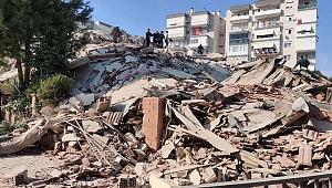 İzmir'deki depremde 4 kişi hayatını kaybetti, 120 yaralı var