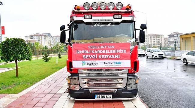 İZMİR'DEKİ DEPREMZEDELERE MALATYA'DAN YARDIM ELİ UZANDI