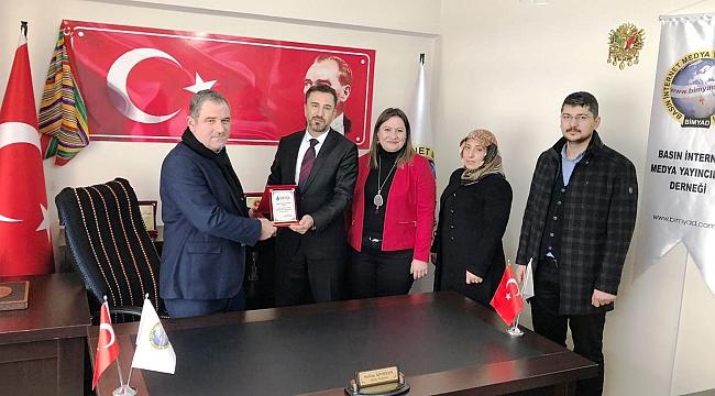 DEVA Partisi Battalgazi İlçe Başkanlığından BİMYAD'a Ziyaret