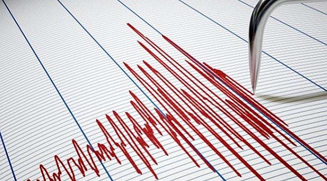 Elazığ'da 3,4 büyüklüğünde deprem