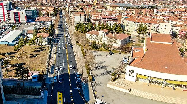 İstasyon Caddesi yenilendi