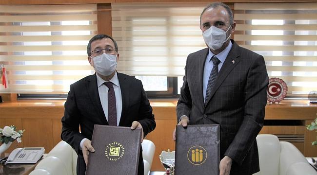 İnönü Üniversitesi ve Fırat Üniversitesi Arasında İş Birliği Protokolü İmzalandı