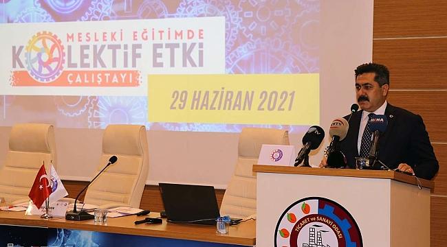 """Malatya'da """"Eğitimde Kolektif Etki Çalıştayı"""" düzenlendi"""