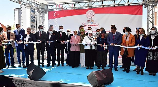 81 il 81 Anaokulu projesinin 44'üncü okulu Malatya'da açıldı
