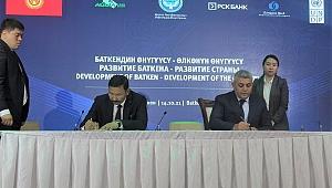 Sadıkoğlu, Kırgızistan'da Düzenlenen Yatırım Forumuna Katıldı