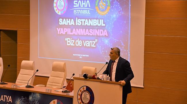 'SAHA İstanbul Malatya Buluşması' düzenlendi