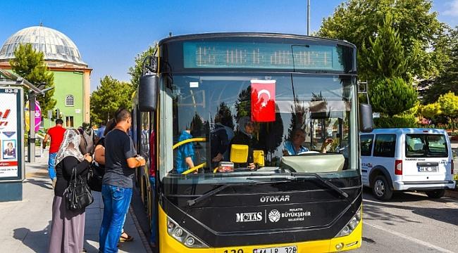 Otobüsler iki gün ücretsiz