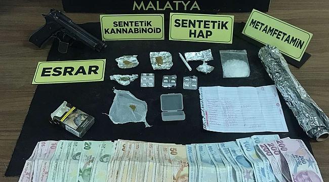 Malatya'da, uyuşturucu satma suçundan 3 kişi tutuklandı